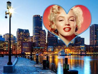 Postcard of Boston