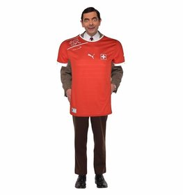 Official shirt of the football team of Switzerland to paste in your photos