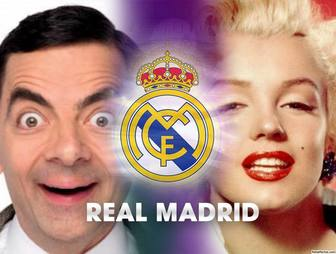 Add two photos to this collage of Real Madrid