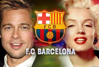 Add two photos to this online collage of FC Barcelona