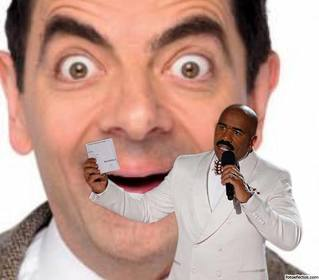 Meme photo effect of Steve Harvey to upload a photo