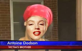 Photomontage of Antoine Dodson, to put your face on the free