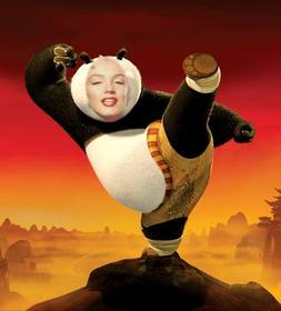 Be Kung Fu Panda with this photomontage that you can edit for free
