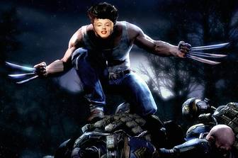 Photomontage of Wolverine attack where you can add your face