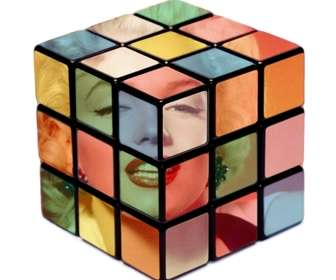 """effect for photos rubik cube to put your photo inside a Rubik""""s cube."""