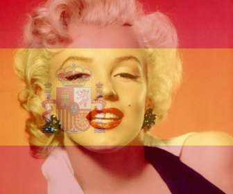 Photomontage to put the flag of Spain in your photo that you can use in your profile picture.