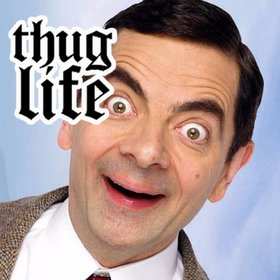 Be viral with this sticker of THUG LIFE to paste on your photos