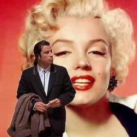 Online meme of John Travolta confused to put your background image. #TravoltaConfused