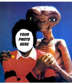 Michael Jackson with ET, Michael Jackson montage of your photo