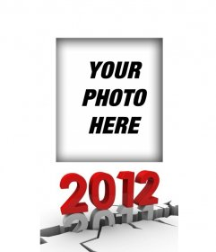 Year 2012 ending in 2011. Put your picture and make a pretty