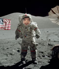 Photomontage to put your side of an astronaut on the moon, to be whoever you want