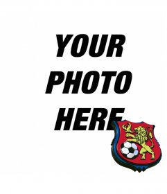 Put the shield of Deportivo de Caracas in your photo.