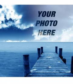 Photomontage to create collages with your picture and background sky