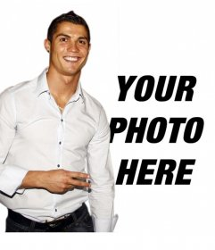 Photo montage to put your picture next to Cristiano Ronaldo