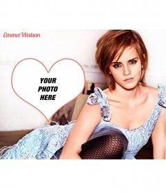 Photomontage with Emma Watson