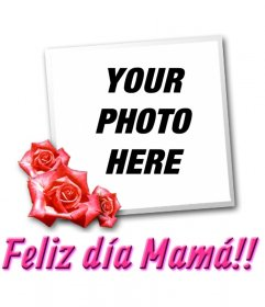 Card for Mother's Day with the text TE QUIERO
