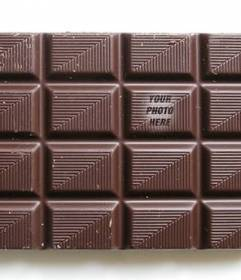 Put your picture on a chocolate bar so as your friends play finding it and customize with text