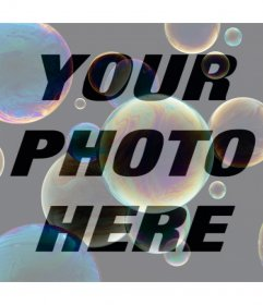 Add bubbles to your photos with this free filter