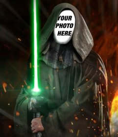 photomontage to put your photo on the face of luke skywalker from star.. - photofunny