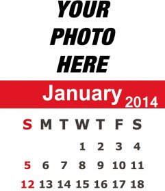 January Kalnirnay English Calendar 2014