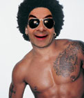 Put your face on the body of Lenny Kravitz, famed musician
