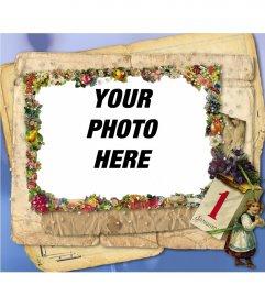 Photo frame 1 January
