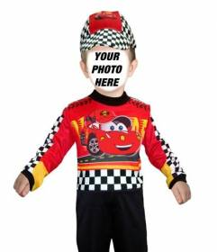 Customizable photomontage of a child dressed as a race car driver .  sc 1 st  Photofunny & Customizable photomontage of a child dressed as a race car driver