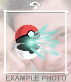 Sticker of a Pokeball ...