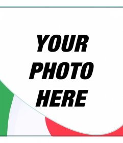 Montage to put the colors of Italy in your photo