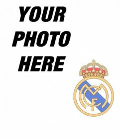 Put the Real Madrid badge on your photo