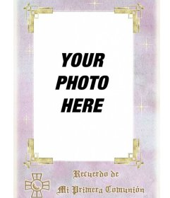 Free template memory of first communion