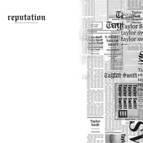 Taylor Swift Album Reputation cover filter