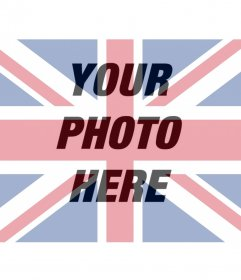 Filter of UK flag to overlay on your photo