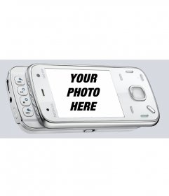 Put your picture in a mobile phone
