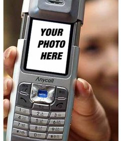 Funny photo montage to put your photo inside a mobile ...