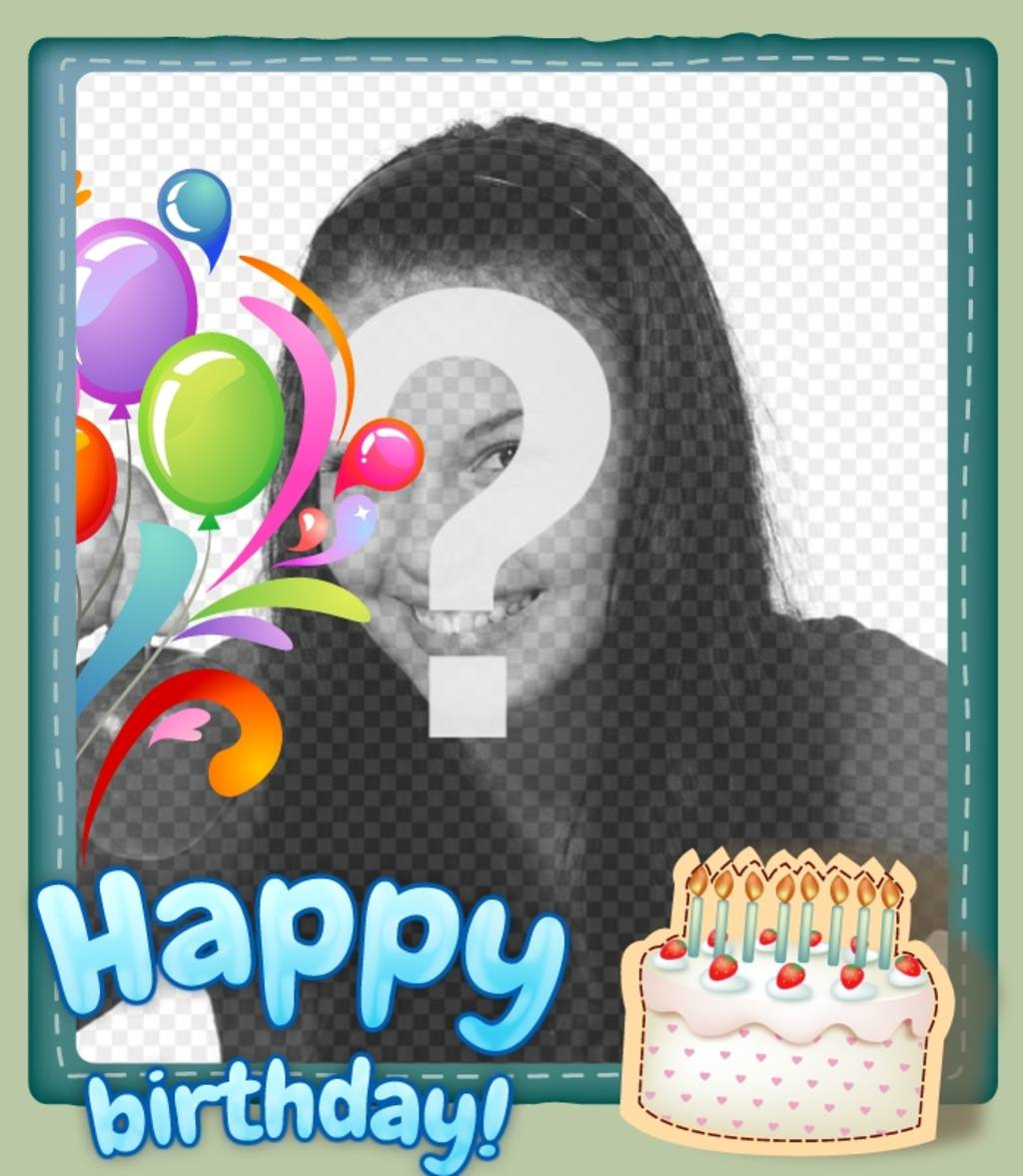 Free Birthday Card Customizable With Photo