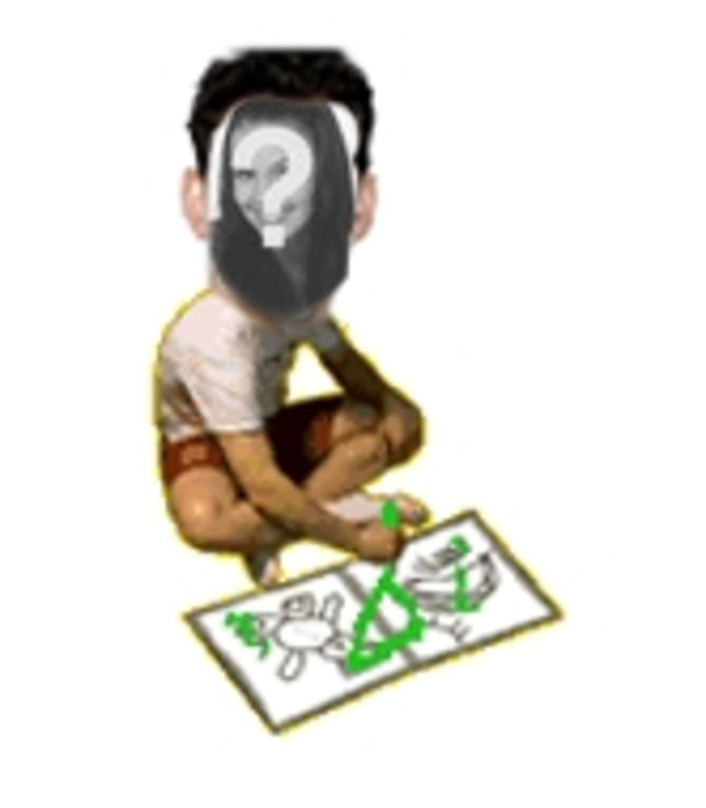 Nice animated photo montage of child drawing, to amuse your friends. Upload a photo, framed a face and you have this animation