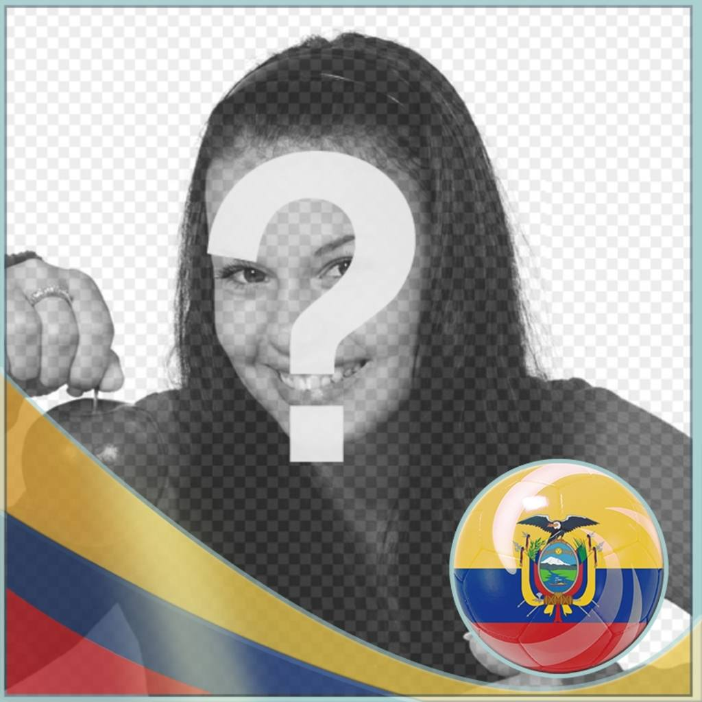 Effect for add the flag of Ecuador in your photos