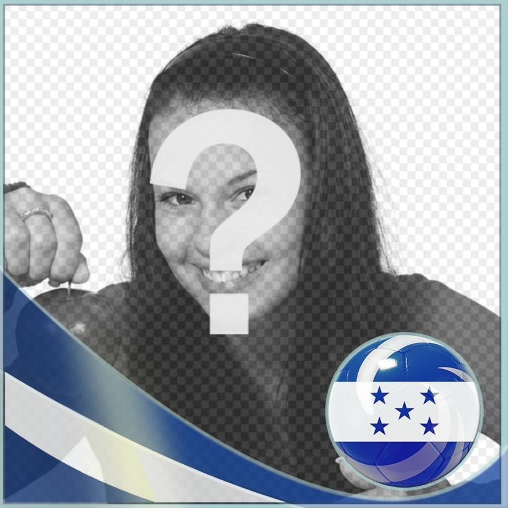 Photo effect to add the Honduras flag on your photo online