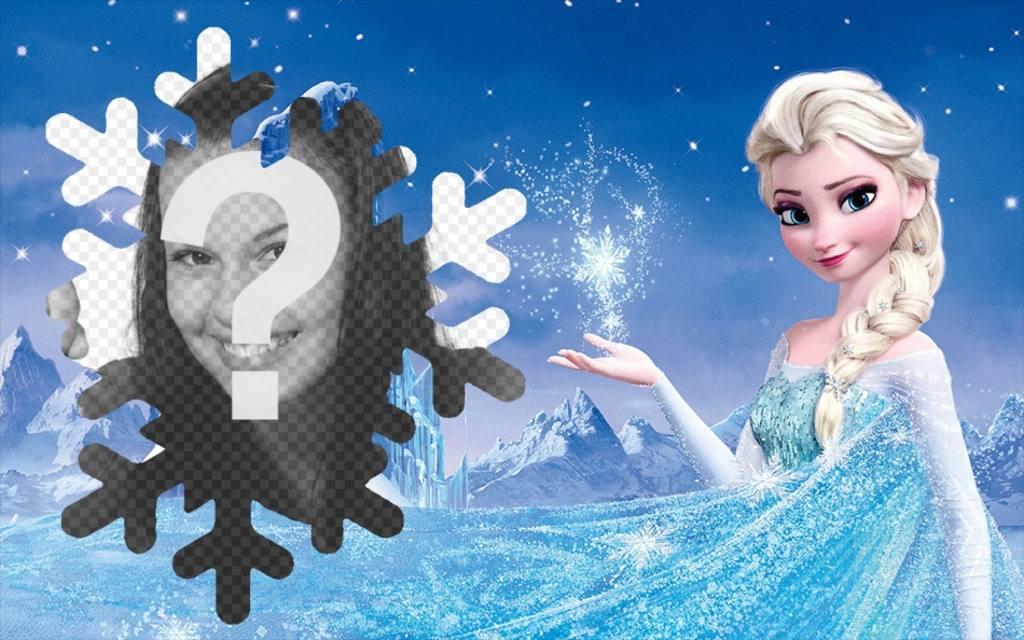 Photomontage with Elsa