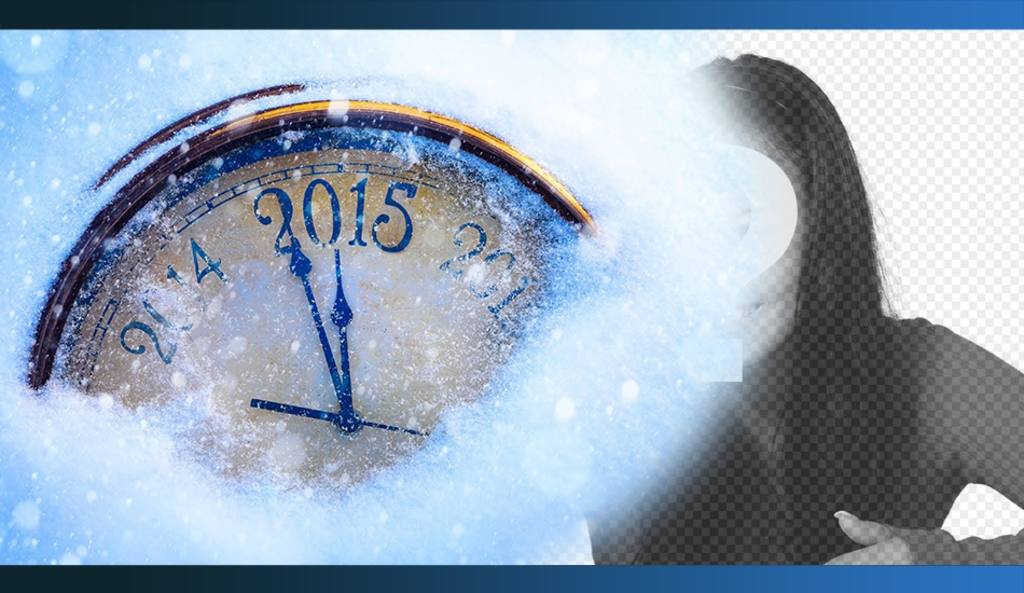 Special New Years 2015 photomontage