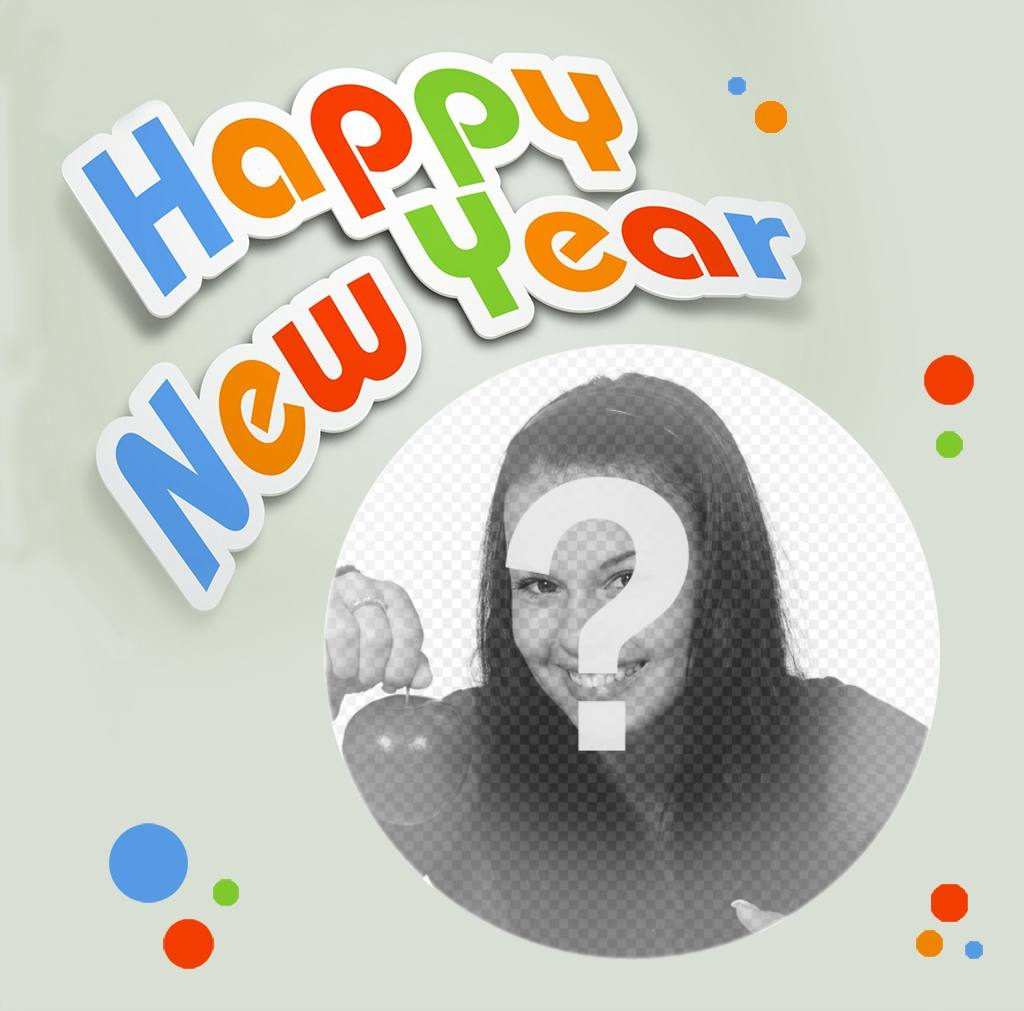 Happy New Year photo effect to your photo