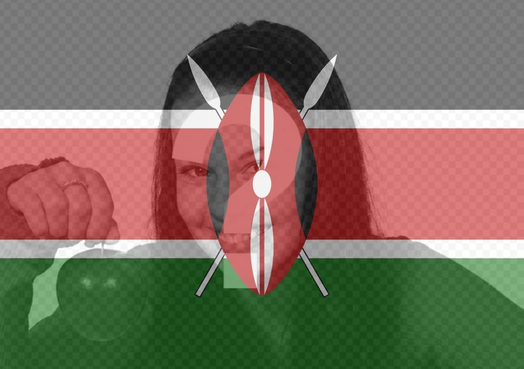 Filter of Kenya flag to put on your profile picture