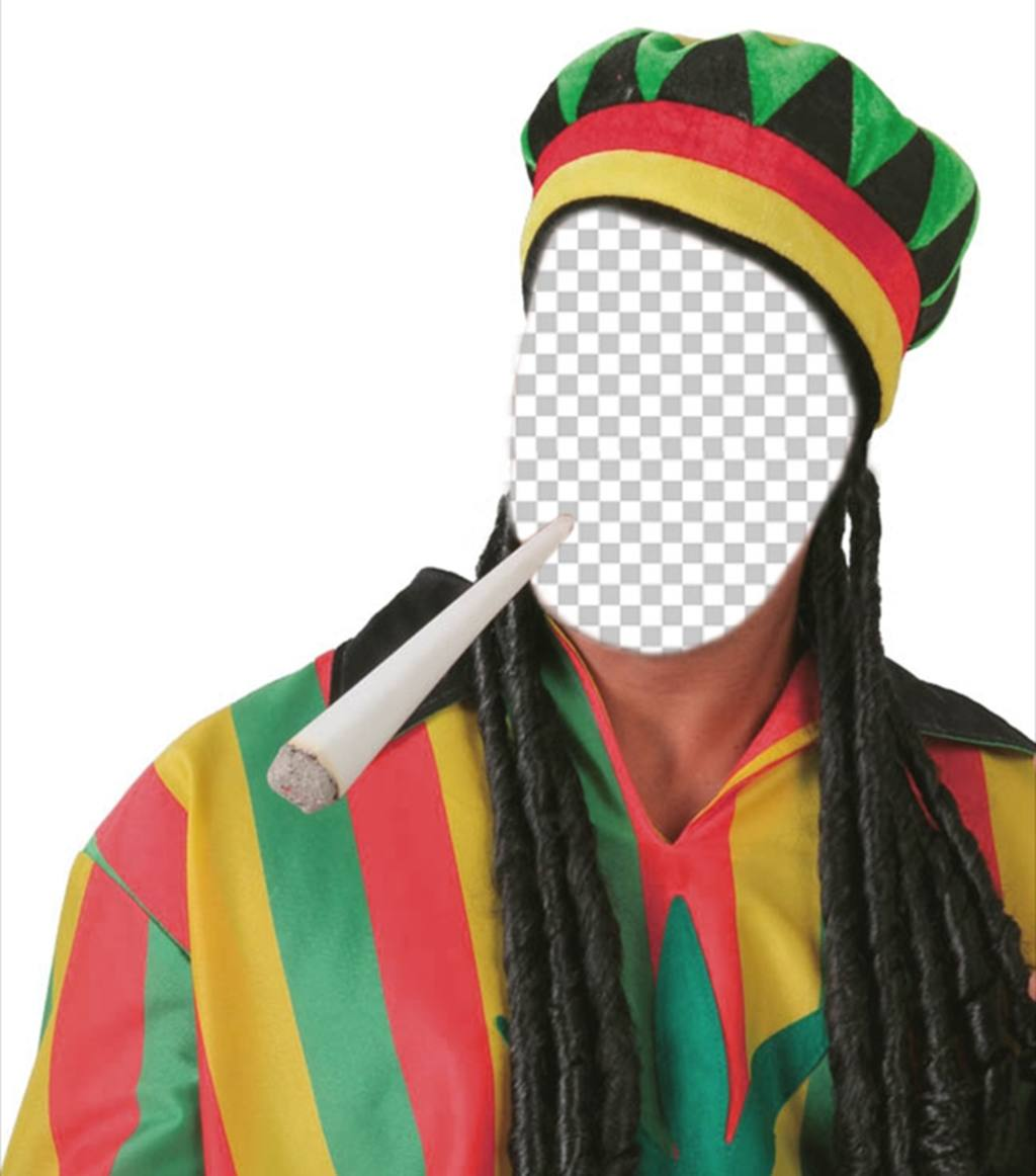 Get dressed as Rastafarian with this original and free effect