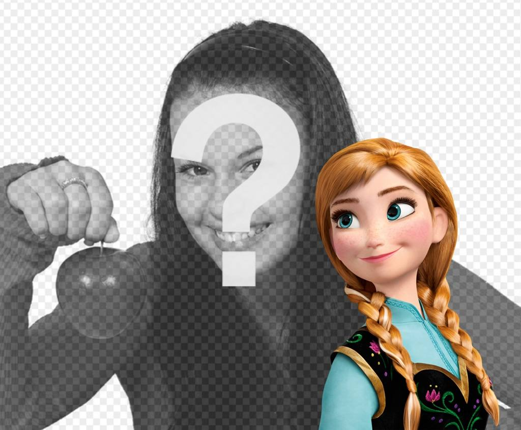 Princess Anna from Frozen in your photos with this free effect
