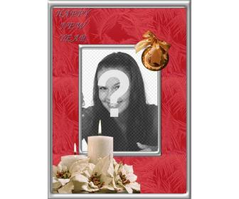 online photo frame for photos to celebrate happy new year