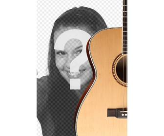 photomontage to put spanish guitar in photo and add text online