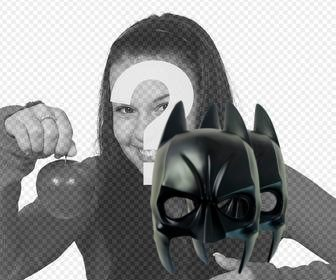 sticker to paste on ur pics with the batman mask