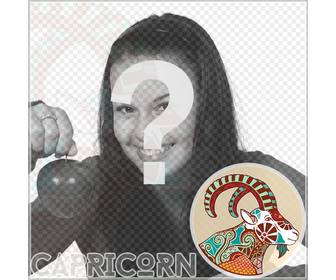 Montage Of The Zodiac Sign Capricorn For Your Profile Pictures