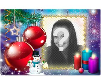 christmas postcard for u to put picture of urself